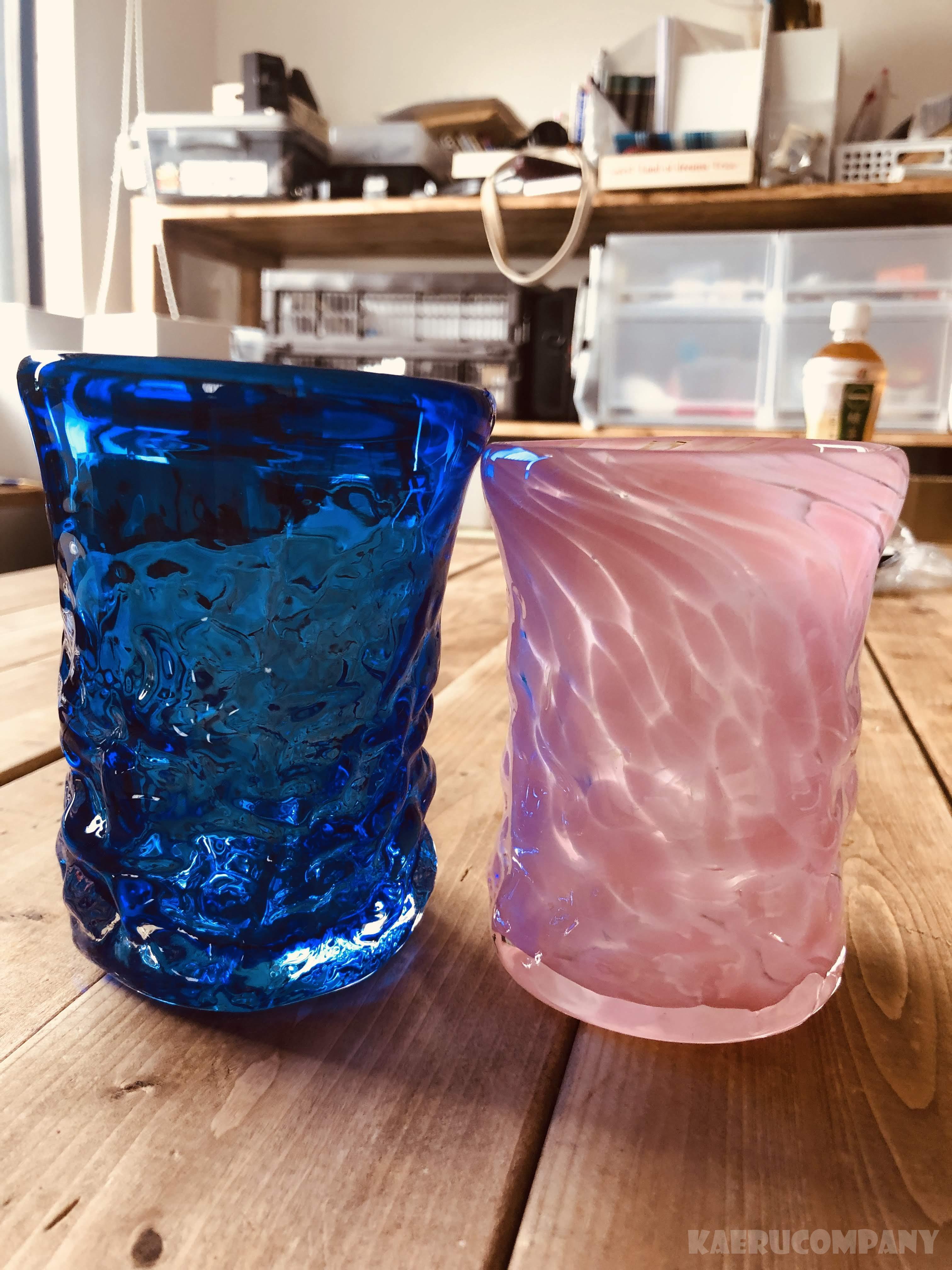 琉球ガラスの吹き体験といえば!元祖琉球ガラス村